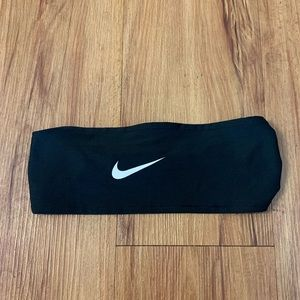NIKE Logo Black Wide Headband